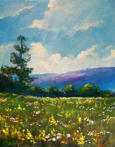 July18_CantGetEnoughWildFlowers_8x10
