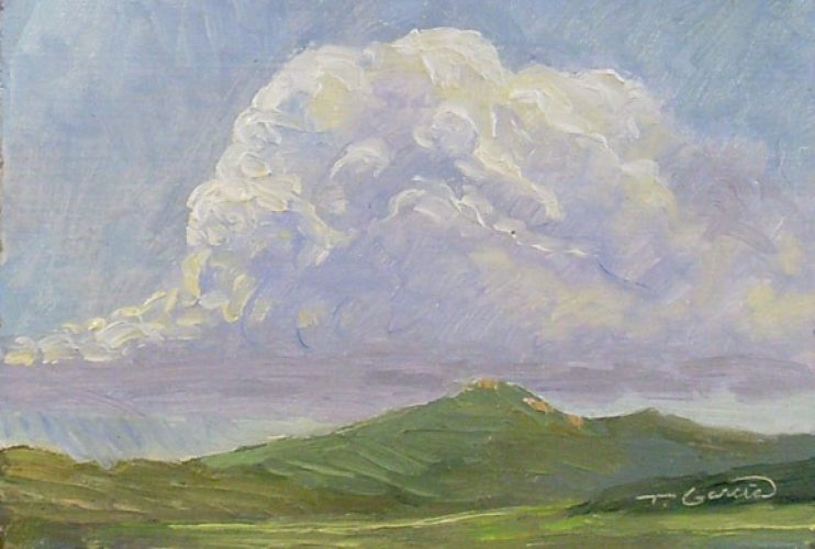 sept9thAfternoonThunderhead4x6w2